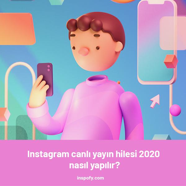 Instagram canlı yayın hilesi 2020 nasıl yapılır?